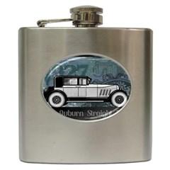 Vintage Car Automobile Auburn Hip Flask (6 Oz)