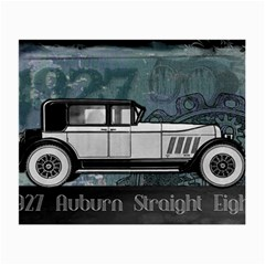 Vintage Car Automobile Auburn Small Glasses Cloth