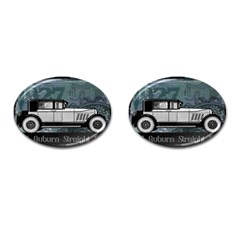 Vintage Car Automobile Auburn Cufflinks (oval)