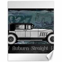Vintage Car Automobile Auburn Canvas 18  X 24