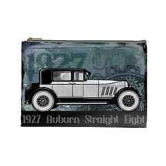 Vintage Car Automobile Auburn Cosmetic Bag (large)