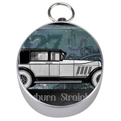 Vintage Car Automobile Auburn Silver Compasses
