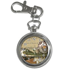 Train Vintage Tracks Travel Old Key Chain Watches