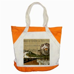 Train Vintage Tracks Travel Old Accent Tote Bag