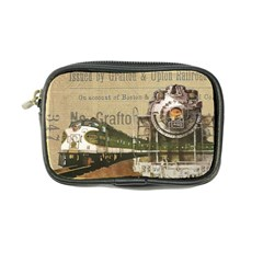 Train Vintage Tracks Travel Old Coin Purse