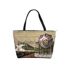 Train Vintage Tracks Travel Old Shoulder Handbags