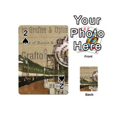 Train Vintage Tracks Travel Old Playing Cards 54 (mini)