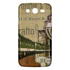 Train Vintage Tracks Travel Old Samsung Galaxy Mega 5 8 I9152 Hardshell Case