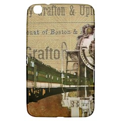 Train Vintage Tracks Travel Old Samsung Galaxy Tab 3 (8 ) T3100 Hardshell Case