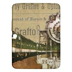 Train Vintage Tracks Travel Old Samsung Galaxy Tab 3 (10 1 ) P5200 Hardshell Case