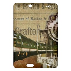 Train Vintage Tracks Travel Old Amazon Kindle Fire Hd (2013) Hardshell Case