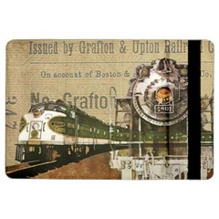 Train Vintage Tracks Travel Old Ipad Air 2 Flip