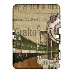 Train Vintage Tracks Travel Old Samsung Galaxy Tab 4 (10 1 ) Hardshell Case