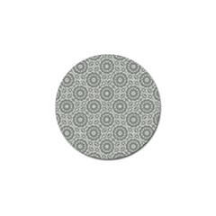 Grey Ornate Decorative Pattern Golf Ball Marker (4 Pack) by dflcprints