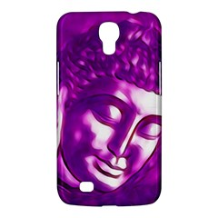 Purple Buddha Art Portrait Samsung Galaxy Mega 6 3  I9200 Hardshell Case by yoursparklingshop