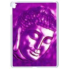 Purple Buddha Art Portrait Apple Ipad Pro 9 7   White Seamless Case by yoursparklingshop