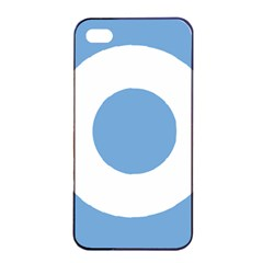 Roundel Of Argentine Air Force Apple Iphone 4/4s Seamless Case (black) by abbeyz71