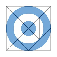 Roundel Of Argentine Air Force Acrylic Tangram Puzzle (6  X 6 ) by abbeyz71