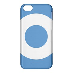Roundel Of Argentine Air Force Apple Iphone 5c Hardshell Case by abbeyz71