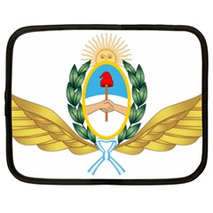 The Argentine Air Force Emblem  Netbook Case (xl)  by abbeyz71