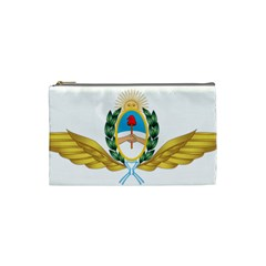 The Argentine Air Force Emblem  Cosmetic Bag (small)  by abbeyz71