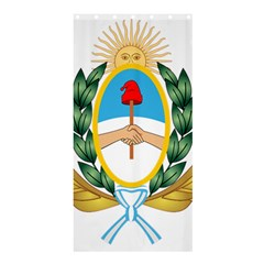 The Argentine Air Force Emblem  Shower Curtain 36  X 72  (stall)  by abbeyz71