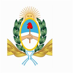 The Argentine Air Force Emblem  Large Garden Flag (two Sides) by abbeyz71