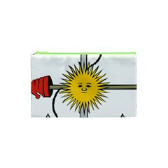 Symbol Of Argentine Navy  Cosmetic Bag (xs) by abbeyz71