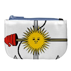 Symbol Of Argentine Navy  Large Coin Purse by abbeyz71