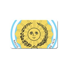 Seal Of The Argentine Army Magnet (name Card) by abbeyz71