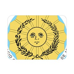 Seal Of The Argentine Army Double Sided Flano Blanket (mini)  by abbeyz71