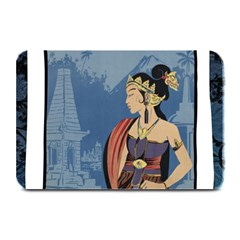 Java Indonesia Girl Headpiece Plate Mats