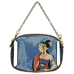 Java Indonesia Girl Headpiece Chain Purses (two Sides)