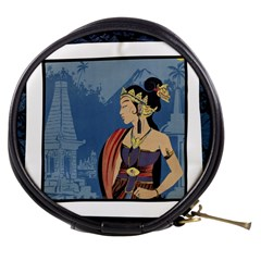 Java Indonesia Girl Headpiece Mini Makeup Bags