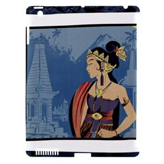 Java Indonesia Girl Headpiece Apple Ipad 3/4 Hardshell Case (compatible With Smart Cover)