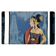 Java Indonesia Girl Headpiece Apple Ipad 3/4 Flip Case