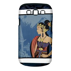 Java Indonesia Girl Headpiece Samsung Galaxy S Iii Classic Hardshell Case (pc+silicone)