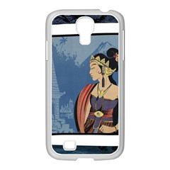 Java Indonesia Girl Headpiece Samsung Galaxy S4 I9500/ I9505 Case (white)