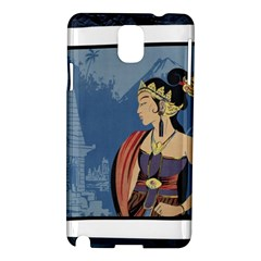 Java Indonesia Girl Headpiece Samsung Galaxy Note 3 N9005 Hardshell Case