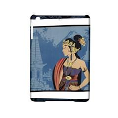 Java Indonesia Girl Headpiece Ipad Mini 2 Hardshell Cases