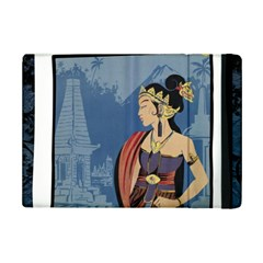 Java Indonesia Girl Headpiece Ipad Mini 2 Flip Cases