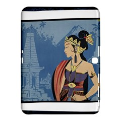 Java Indonesia Girl Headpiece Samsung Galaxy Tab 4 (10 1 ) Hardshell Case