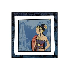 Java Indonesia Girl Headpiece Satin Bandana Scarf