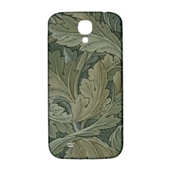 Vintage Background Green Leaves Samsung Galaxy S4 I9500/i9505  Hardshell Back Case