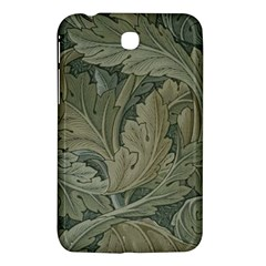 Vintage Background Green Leaves Samsung Galaxy Tab 3 (7 ) P3200 Hardshell Case