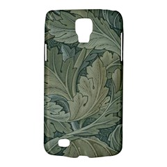 Vintage Background Green Leaves Galaxy S4 Active
