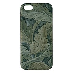Vintage Background Green Leaves Iphone 5s/ Se Premium Hardshell Case