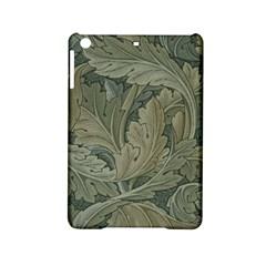 Vintage Background Green Leaves Ipad Mini 2 Hardshell Cases