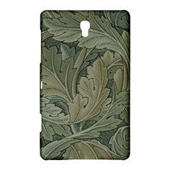 Vintage Background Green Leaves Samsung Galaxy Tab S (8 4 ) Hardshell Case
