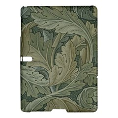 Vintage Background Green Leaves Samsung Galaxy Tab S (10 5 ) Hardshell Case  by Nexatart